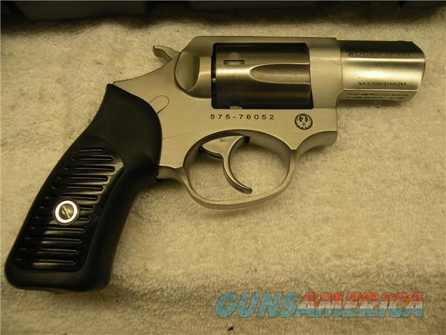 "RUGER SP101, .357MAG, 2.25"", STAINLESS,  NO RESERVE, FREE LAYAWAY  Guns > Pistols > Ruger Double Action Revolver > SP101 Type"