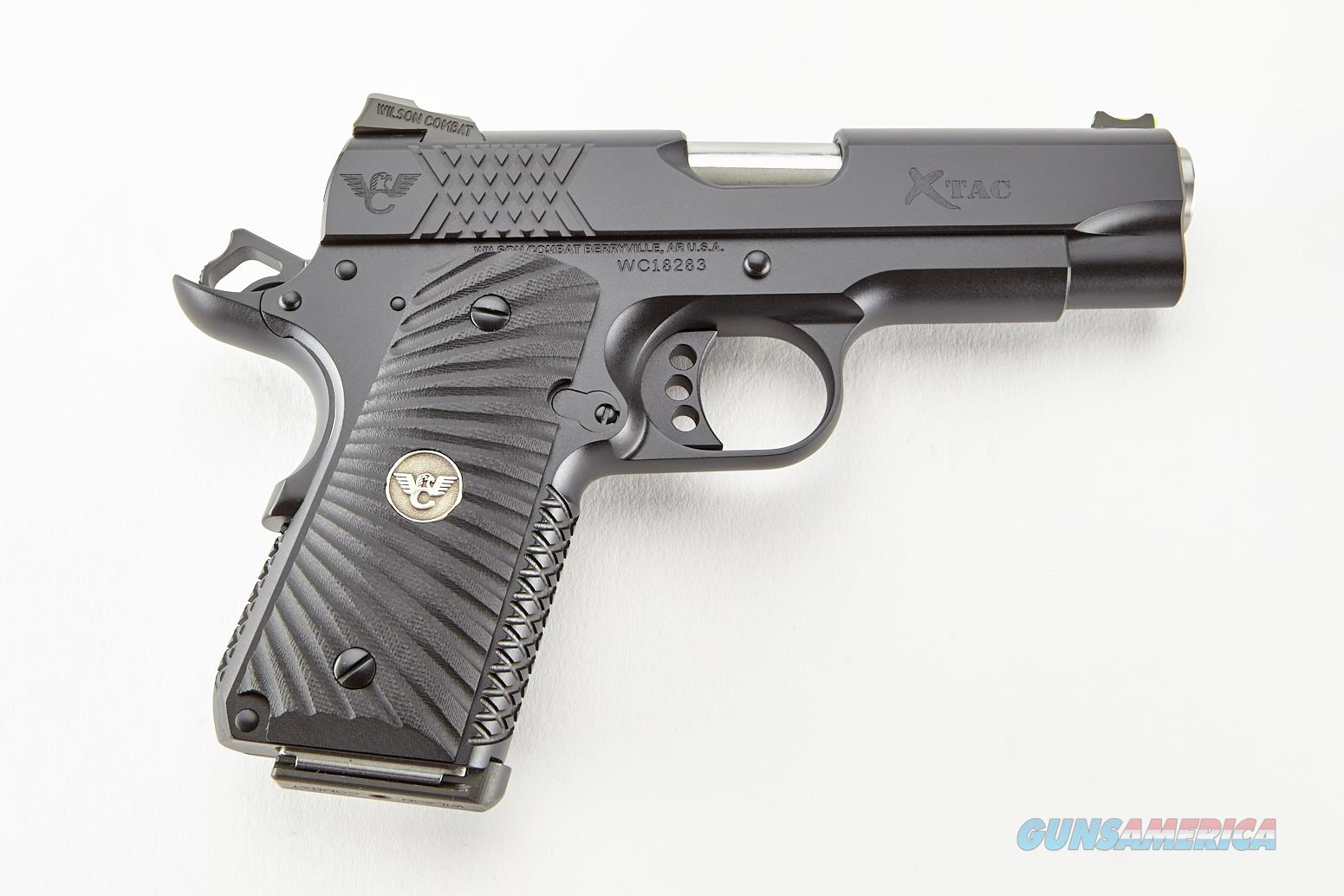 WILSON COMBAT X-TAC, Compact, 45 ACP, Black (Free 10 MONTH Lay-a-Way)  Guns > Pistols > 1911 Pistol Copies (non-Colt)