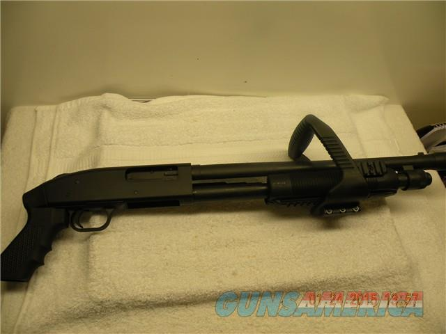MOSSBERG 500 CHAINSAW,  12GA, NO RESERVE,  FREE LAYAWAY  Guns > Shotguns > Mossberg Shotguns > Pump > Tactical