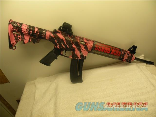 "SMITH & WESSON M&P 15-22, 16"" THREADED BARREL,  NO RESERVE, FREE LAYAWAY  Guns > Rifles > Smith & Wesson Rifles > M&P"