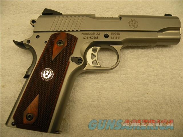 RUGER SR1911, 45ACP COMMANDER STAINLESS, FREE LAYAWAY  Guns > Pistols > Ruger Semi-Auto Pistols > 1911