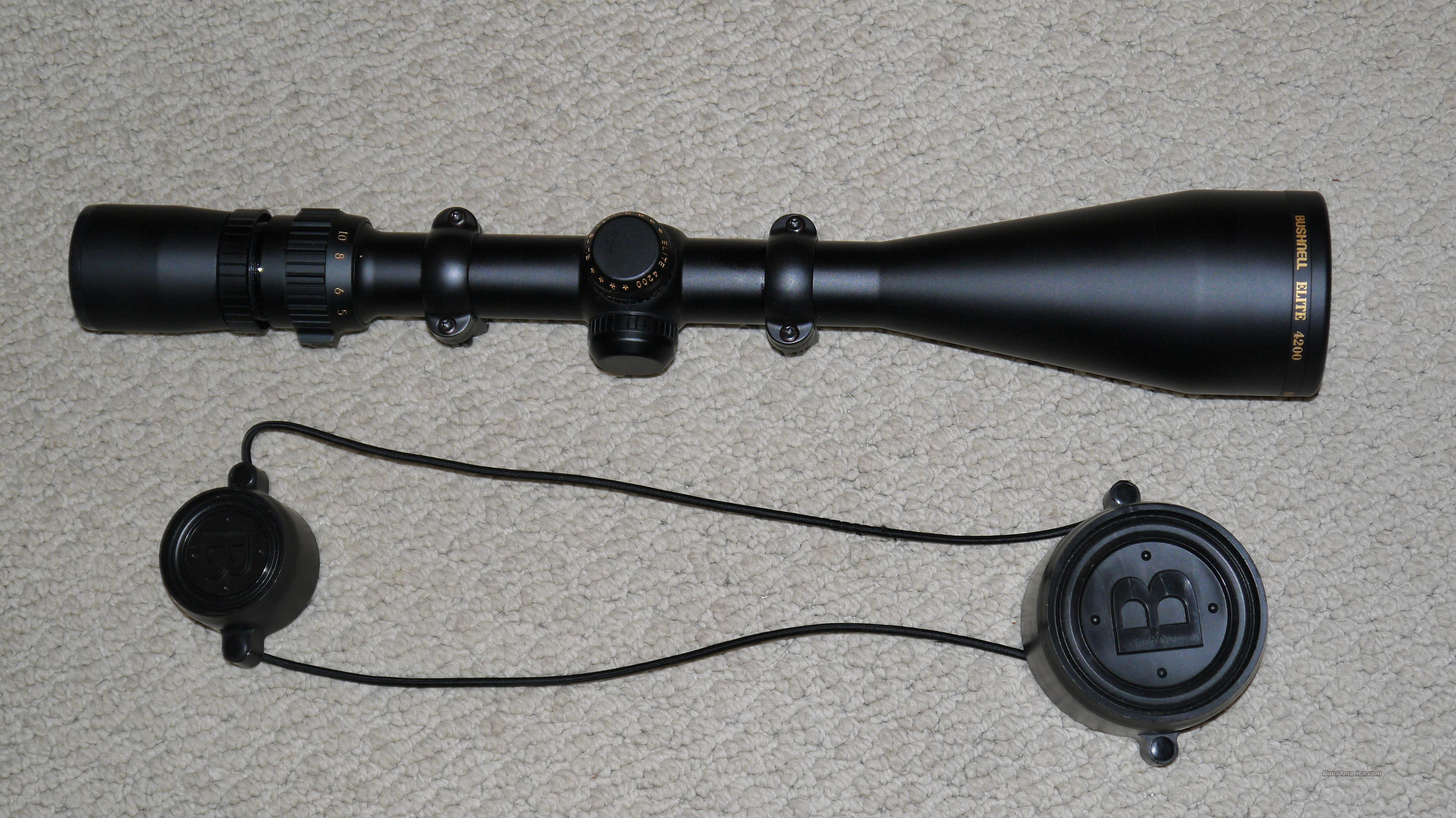 Bushnell Elite 4200 2.5X10X50 Scope  Non-Guns > Scopes/Mounts/Rings & Optics > Rifle Scopes > Variable Focal Length