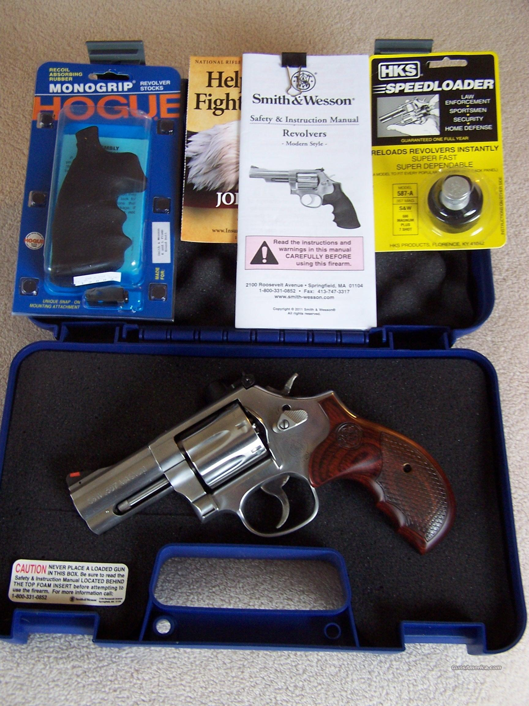 NIB Special Edition Talo S&W 686 PLUS .357 Magnum Stainless - Distinguished Combat Magnum                      Guns > Pistols > Smith & Wesson Revolvers > Full Frame Revolver