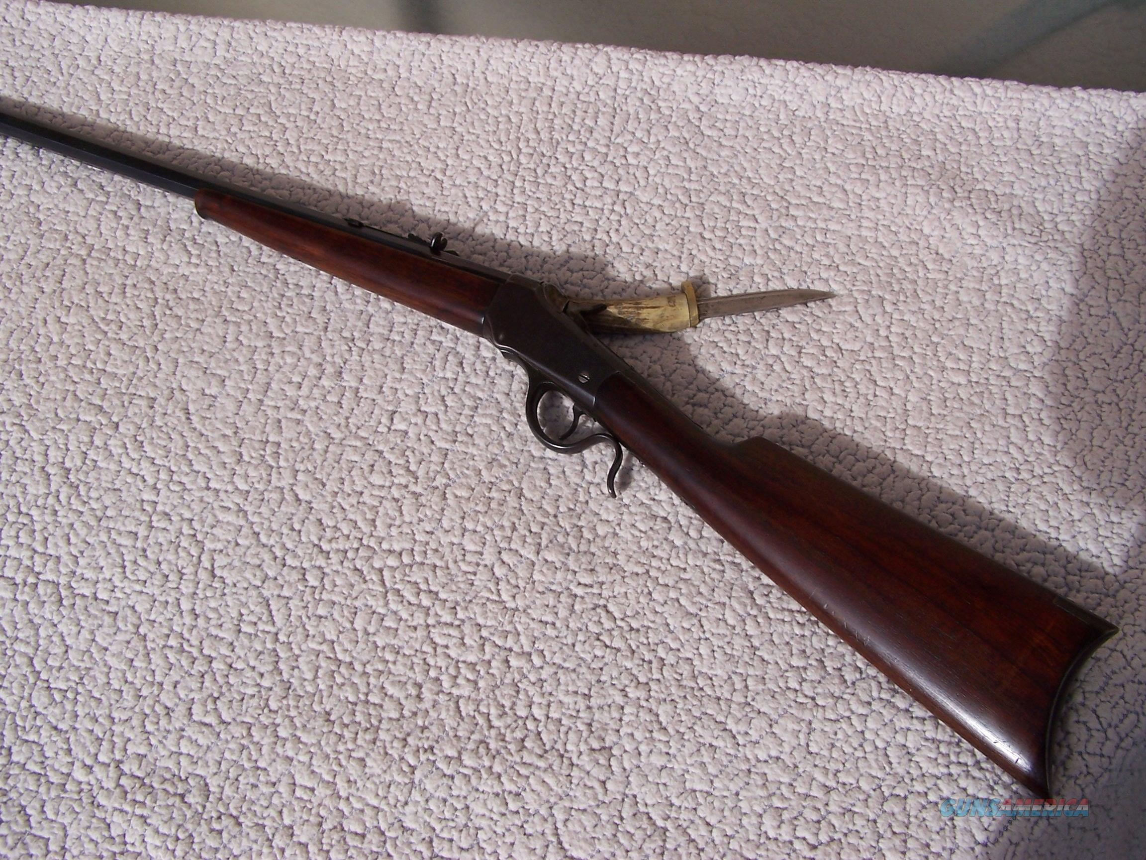 winchester 1885 low wall .22 hornet  Guns > Rifles > Winchester Rifles - Modern Lever > Other Lever > Pre-64