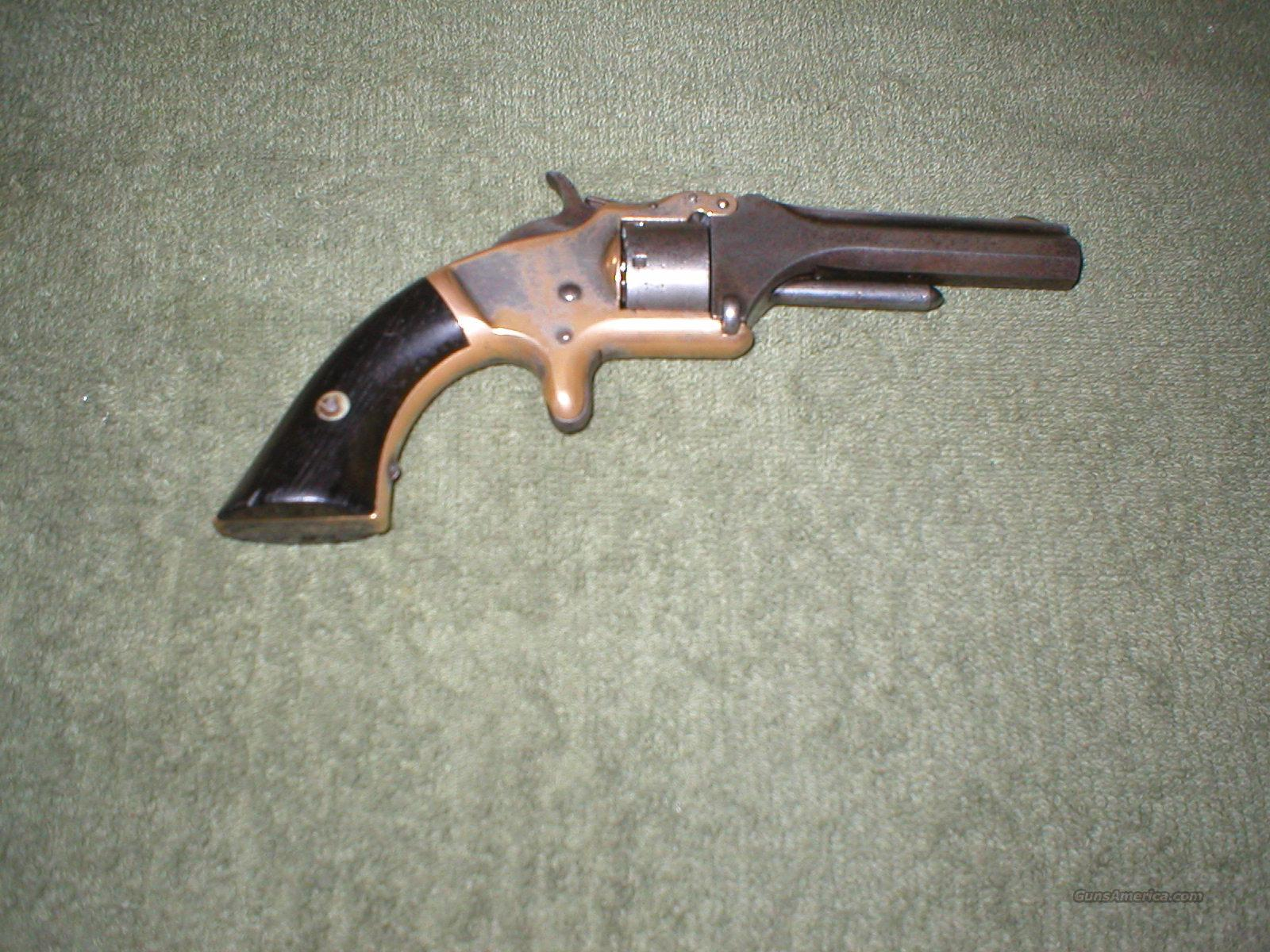 Smith & Wesson Model 1  2nd Issue Tip Up  Guns > Pistols > Smith & Wesson Revolvers > Pre-1899