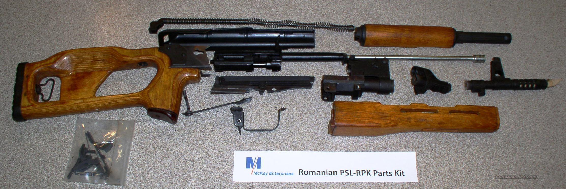 PSL-RPK PARTS KIT  Guns > Rifles > AK-47 Rifles (and copies) > Full Stock