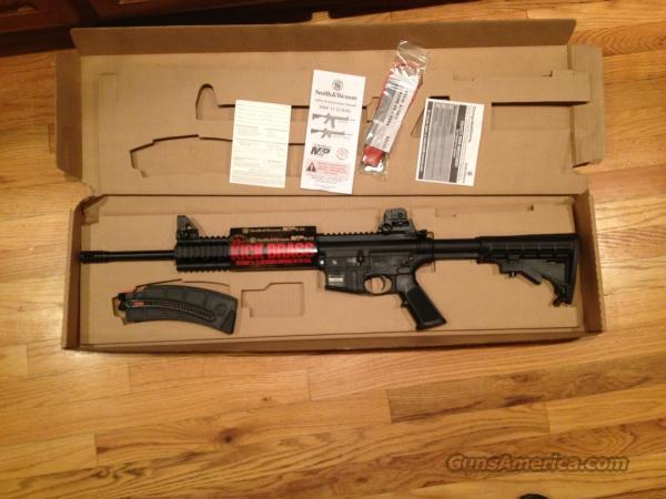 "SMITH AND WESSON M&P 15-22, 16"", 25RD MAG, THREADED BARREL  Guns > Rifles > Smith & Wesson Rifles > M&P"