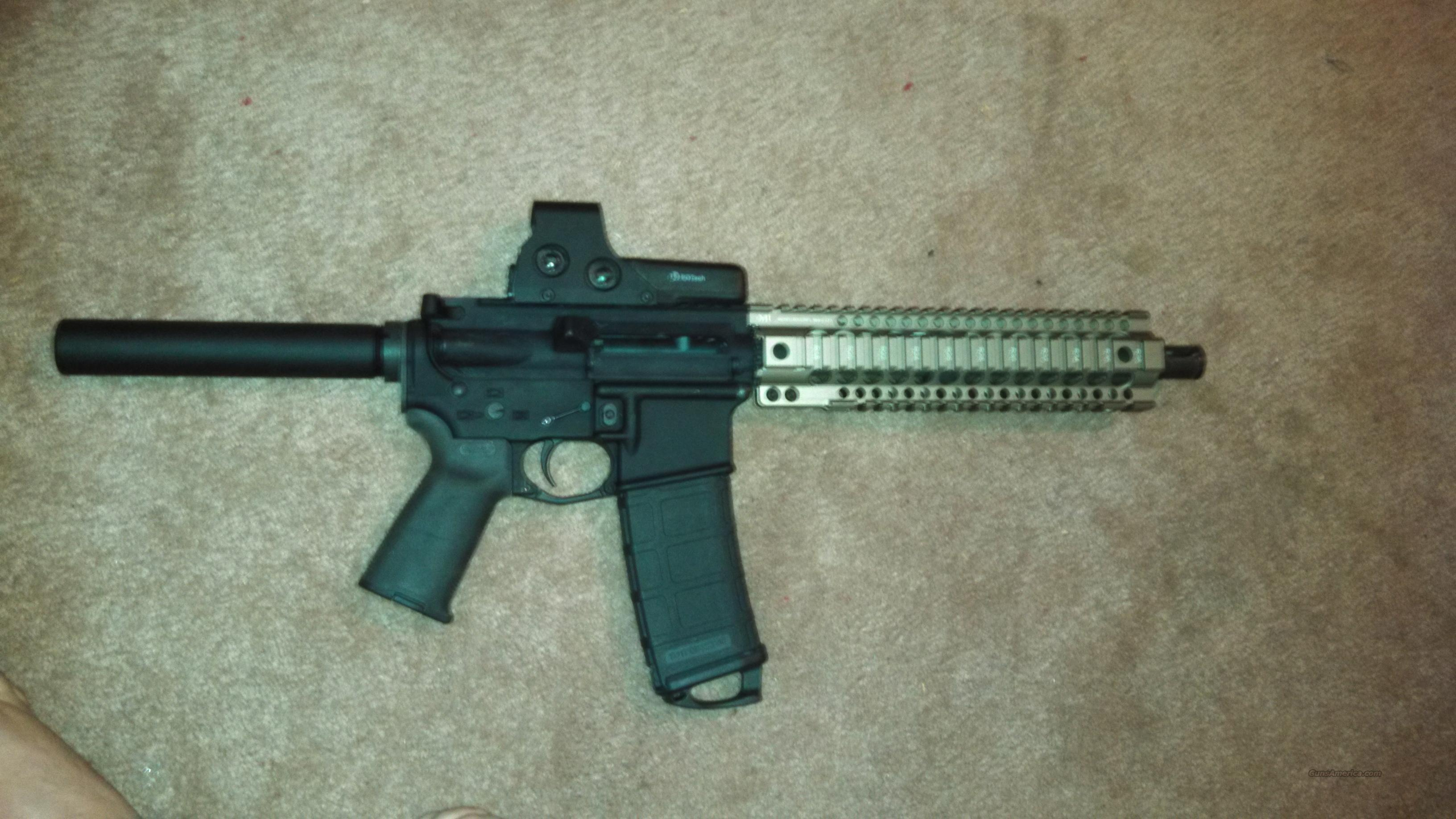 300 BLACKOUT PISTOL!!!!SPIKES LOWER SPIDER W/ BULLET MARKINGS  Guns > Rifles > AR-15 Rifles - Small Manufacturers > Complete Rifle