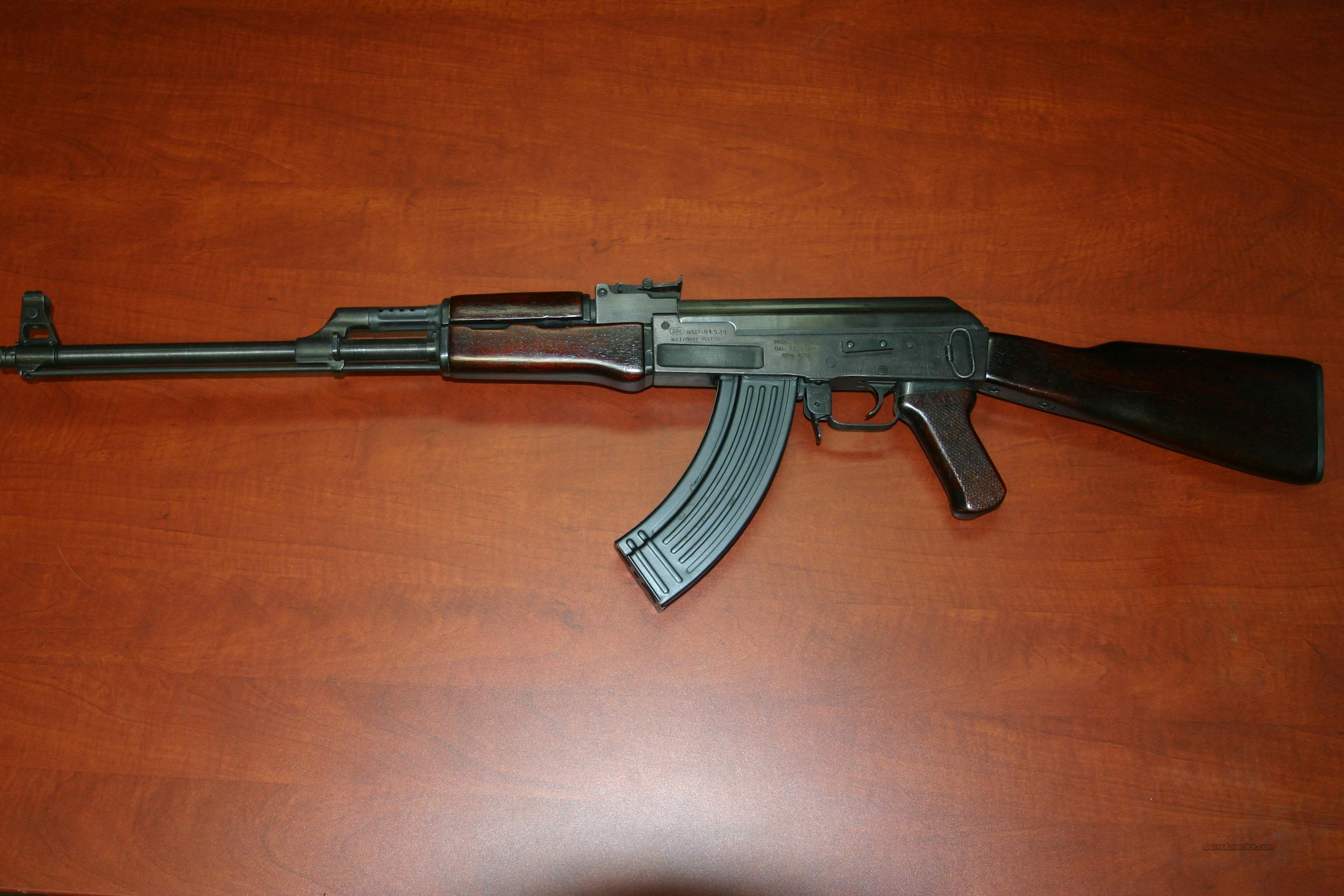 AK-47 POLYTECH NATIONAL MATCH  Guns > Rifles > AK-47 Rifles (and copies) > Full Stock