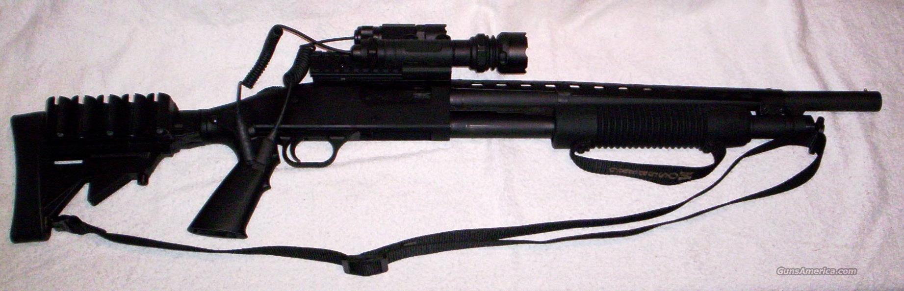 MOSSBERG TACTICAL 500A PERSUADER 12 GAUGE PUMP  Guns > Shotguns > Mossberg Shotguns > Pump > Tactical