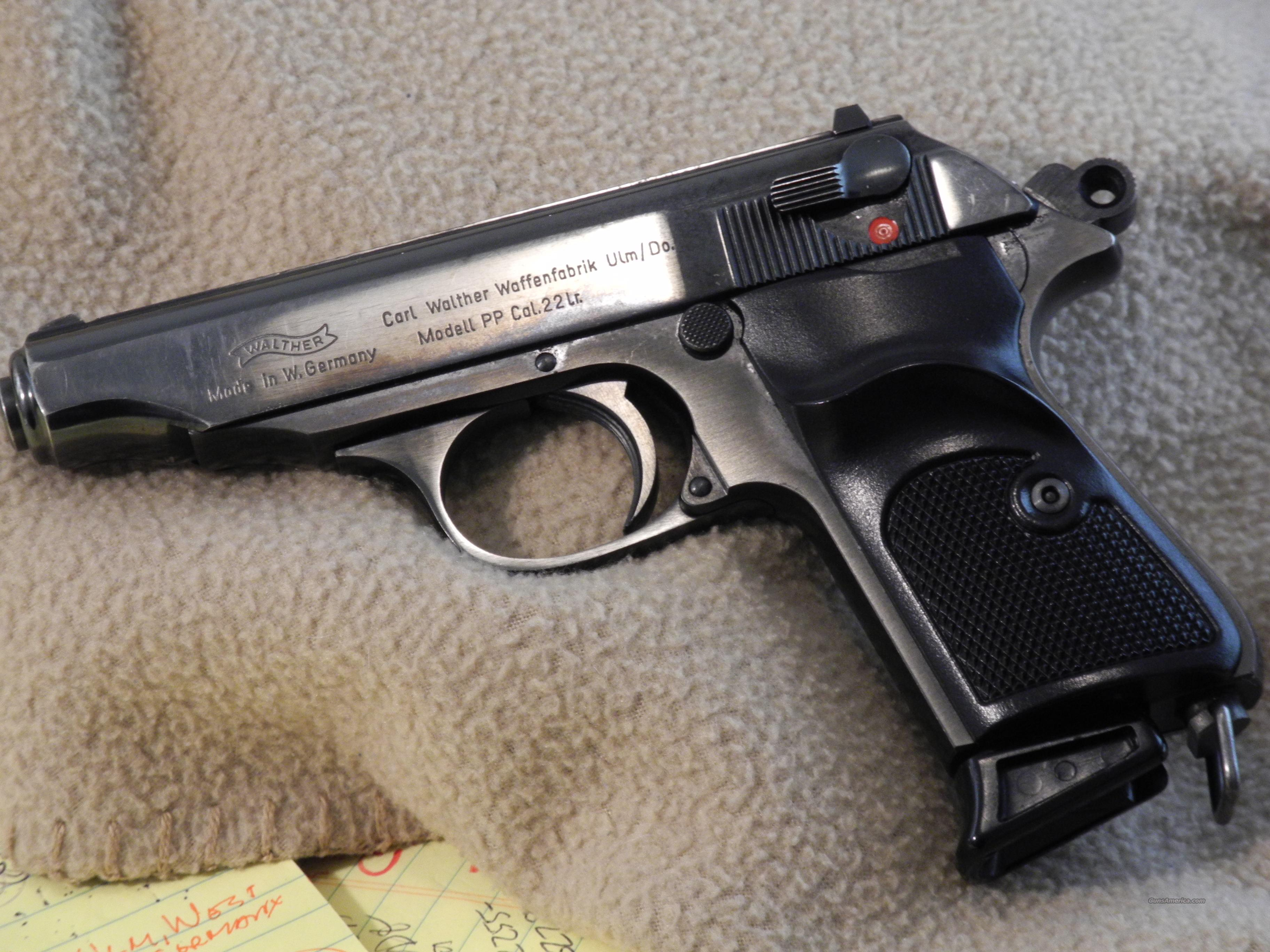 Walther PP, 22LR, West German***Sale Pending***  Guns > Pistols > Walther Pistols > Post WWII > PPK Series