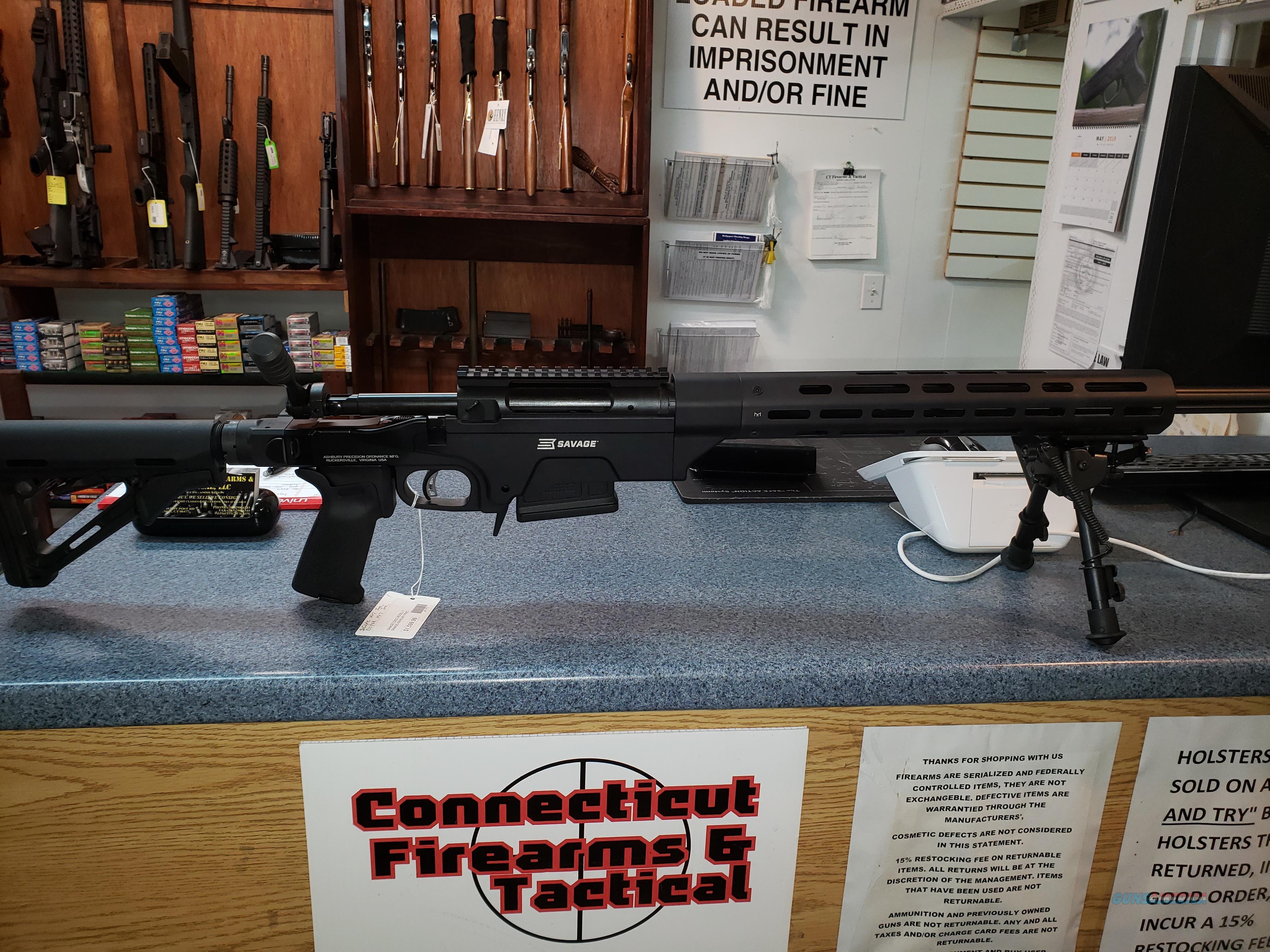 Savage Saber MCRS 6.5 Creedmor  Guns > Rifles > Savage Rifles > 10/110