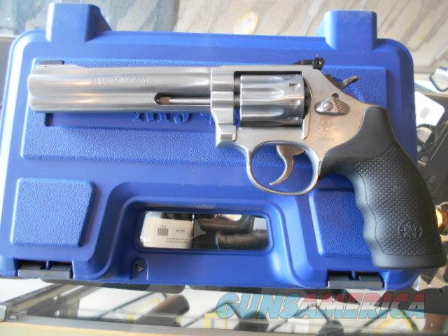 SMITH AND WESSON 617-6 .22LR TEN SHOT STAINLESS  Guns > Pistols > Smith & Wesson Revolvers > Full Frame Revolver