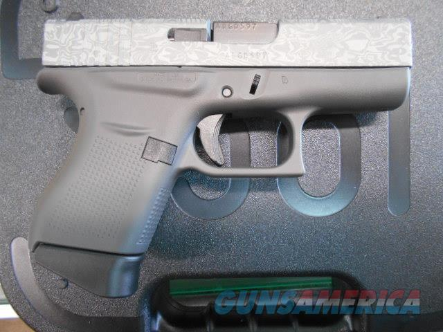 GLOCK 43 9MM DAMASCUS/GREY CERAKOTE  Guns > Pistols > Glock Pistols > 43/43X