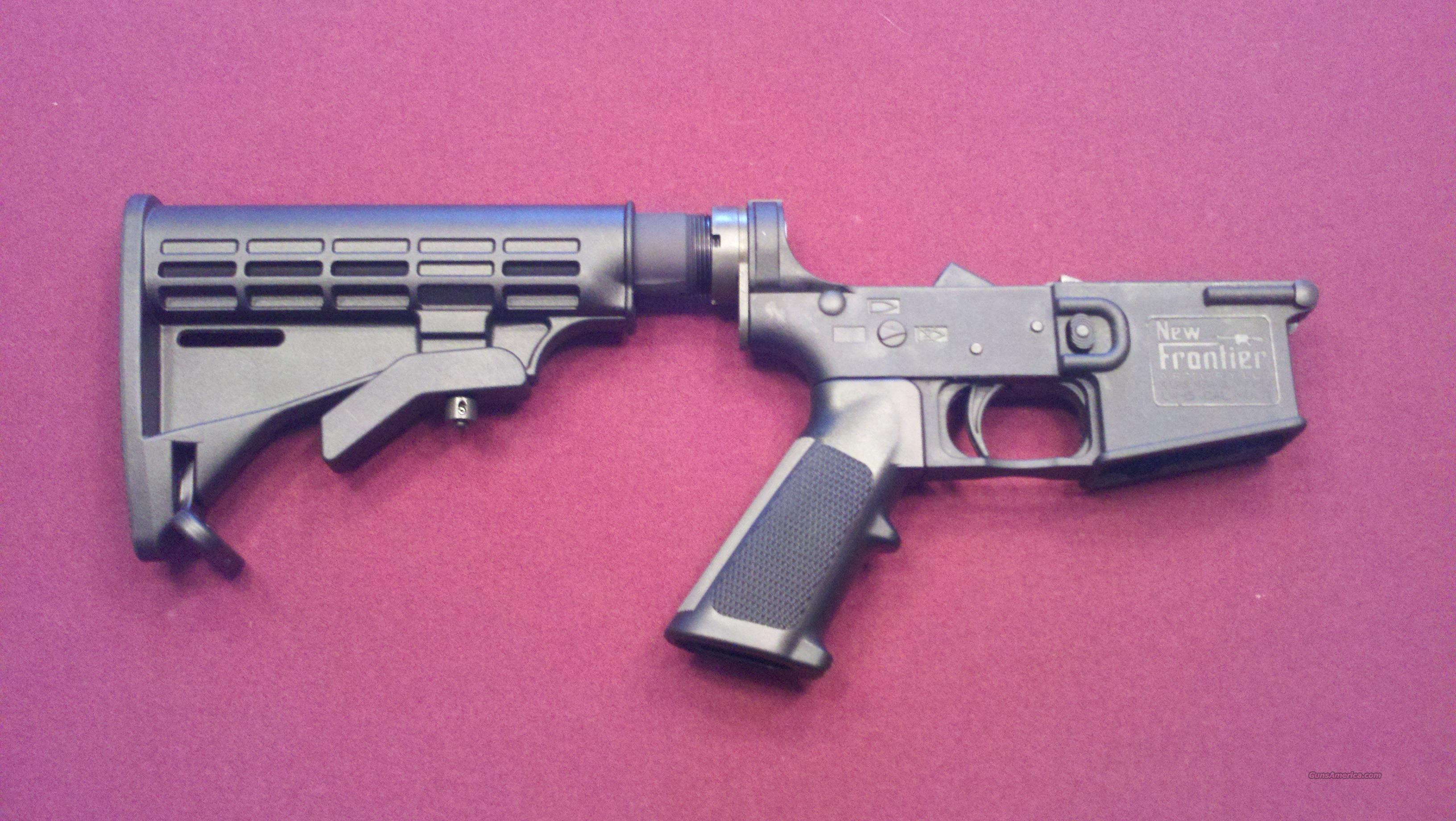 AR 15 Complete Lower  Guns > Rifles > AR-15 Rifles - Small Manufacturers > Lower Only