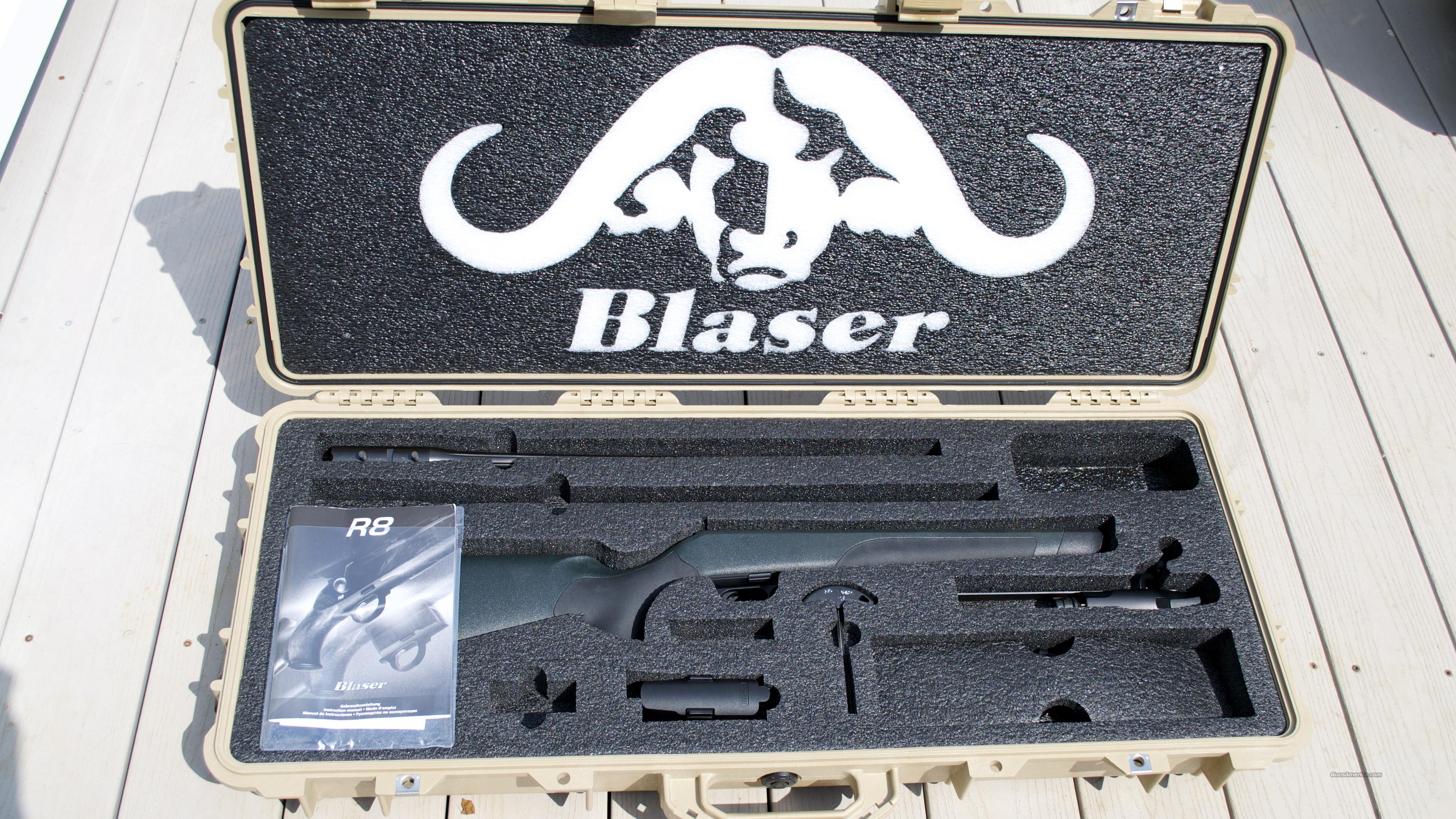 Blaser R8 Professional Package w/ fluted barrel  Guns > Rifles > Blaser Rifles/Combos/Drillings