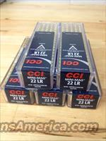 500 Rounds 22 LR CCI Mini Mag 40 Grain GLRN Bullet 1235 fps 100 Round Box 0030  Non-Guns > Ammunition