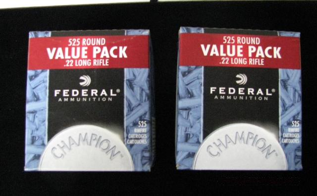 1050 Rounds - Federal Champion® Target - 22 LR 36gr Copper-Plated HP  Non-Guns > Ammunition