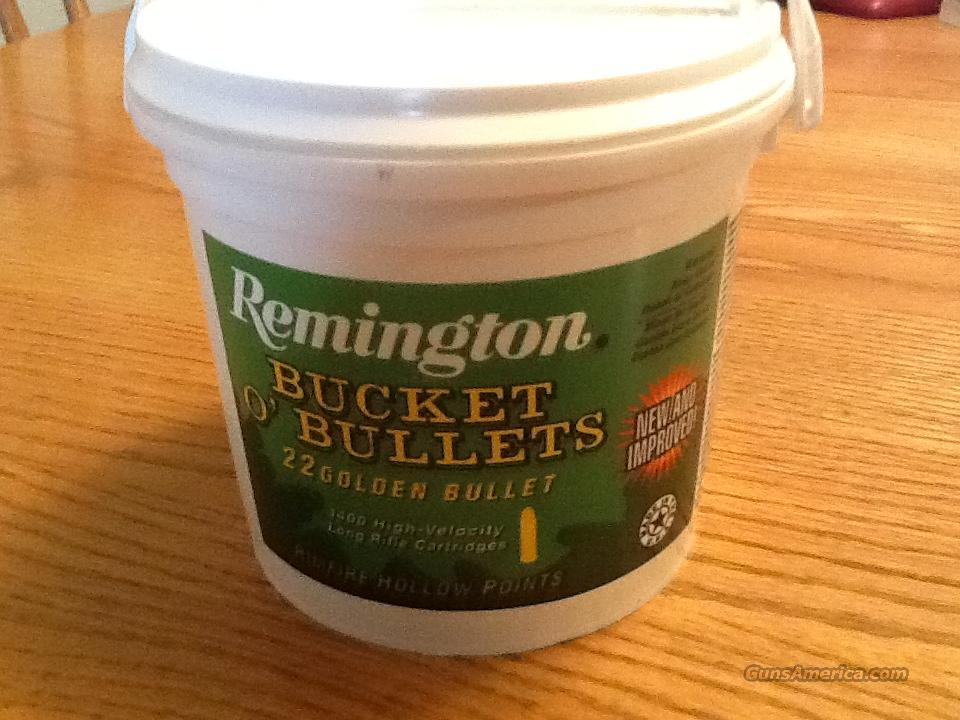 "1400 Rounds 22 LR- Remington Bucket ""O"" Bullets ""IN STOCK""  Non-Guns > Ammunition"
