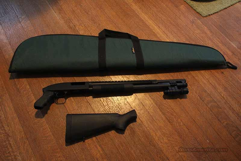 "MOSSBERG 500 PERSUADER 12G 20"" PUMP, PISTOL GRIP & STOCK  Guns > Shotguns > Mossberg Shotguns > Pump > Tactical"