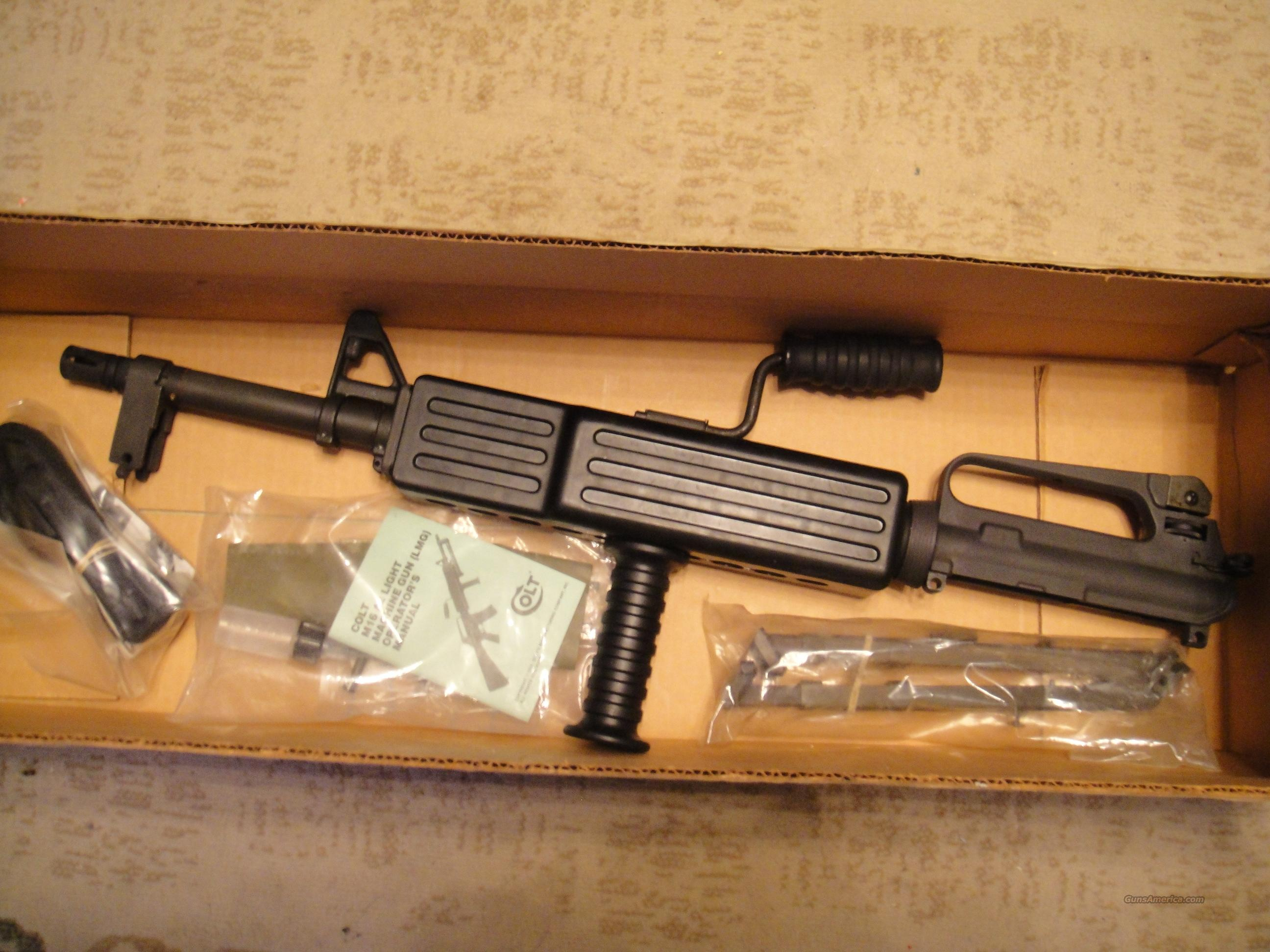 COLT M16 A2 LIGHT MACHINE GUN UPPER  Guns > Rifles > Colt Military/Tactical Rifles