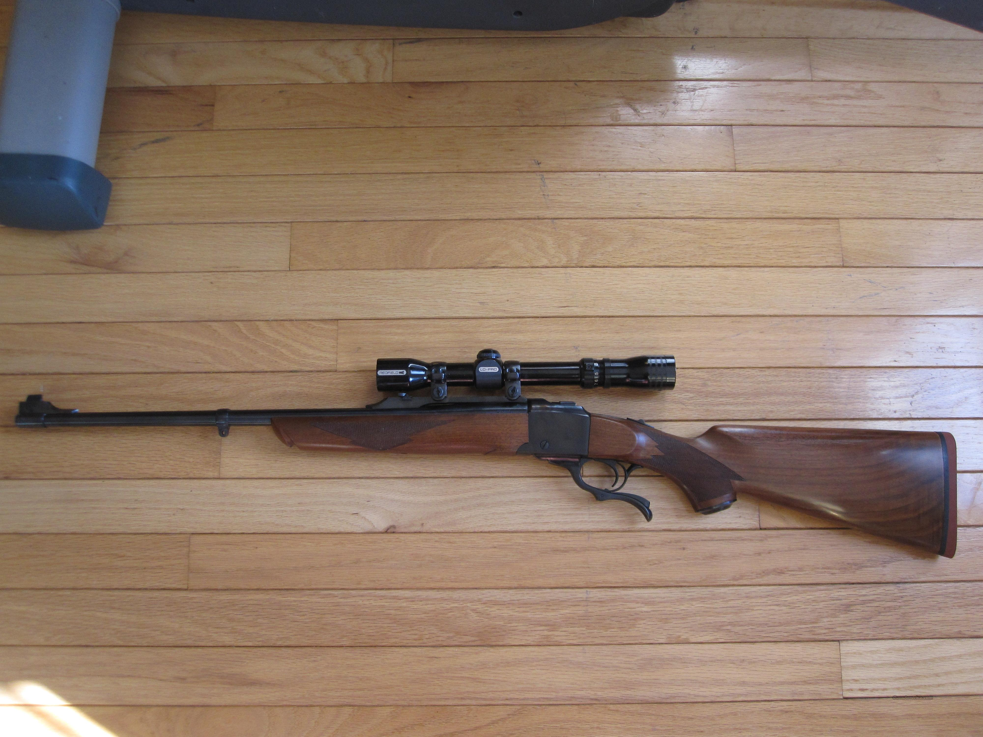 Ruger Number 1 .270 w/ Redfield Lo-Pro 2x-7x Scope  Guns > Rifles > Ruger Rifles > #1 Type