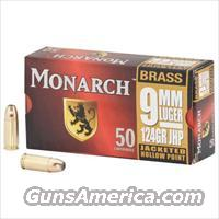 Monarch 9mm Brass Ammunition - 250 Rounds  Non-Guns > Ammunition