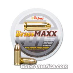 BrassMaxx 9mm FMJ - 100 Rounds  Non-Guns > Ammunition