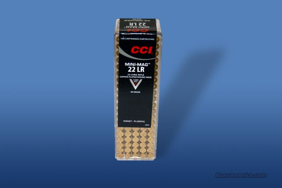 CCI Mini-Mag 22 LR 200 Rounds  Non-Guns > Ammunition