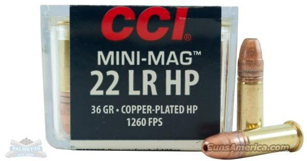 CCI Mini-Mag 22 LR HP - 200 Rounds  Non-Guns > Ammunition
