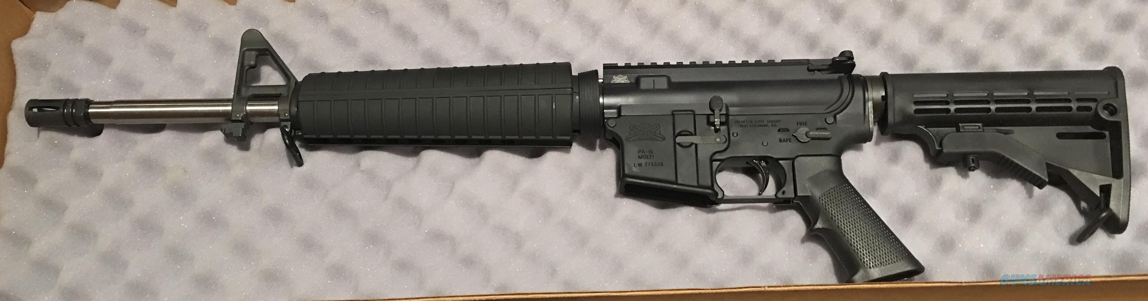 Palmetto State Armory 5.56 / REDUCED   Guns > Rifles > AR-15 Rifles - Small Manufacturers > Complete Rifle