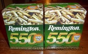 Remington 550rds.22 Long Rifle  Non-Guns > Ammunition