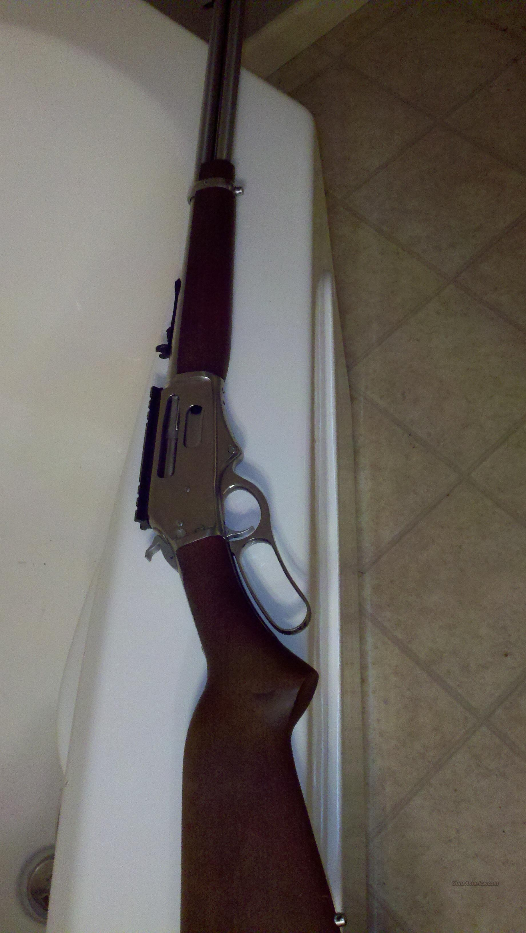 STAINLESS ROSSI RIO GRANDE .30-30 lever action  Guns > Rifles > Rossi Rifles > Cowboy