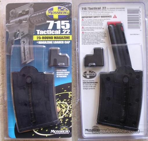 New 25 rd Magazine Mossberg 715T With Speed Loader 22lr .22 MAG  Non-Guns > Magazines & Clips > Rifle Magazines > AR-15 Type