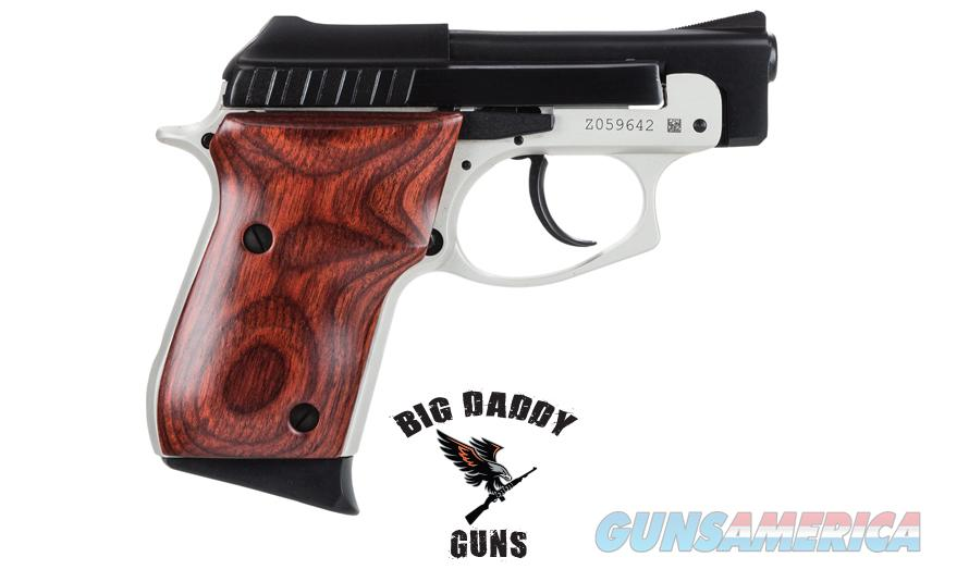 Taurus PT22 22LR Blue/Nickel w/ Rosewood Grips NEW  Guns > Pistols > Taurus Pistols/Revolvers > Pistols > Steel Frame