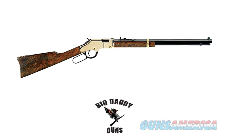 Henry Golden Boy Lever 22Mag 12rd 20.5in NEW in Box  Guns > Rifles > Henry Rifle Company