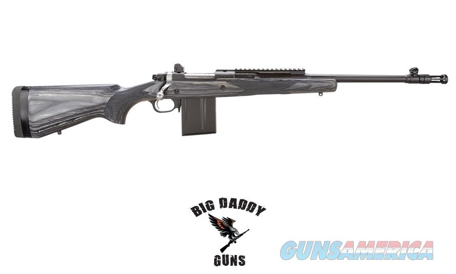 Ruger Gunsite Scout 308WIN Black w/ Black 16.5in Bbl 10rd NEW  Guns > Rifles > Ruger Rifles > Lever Action