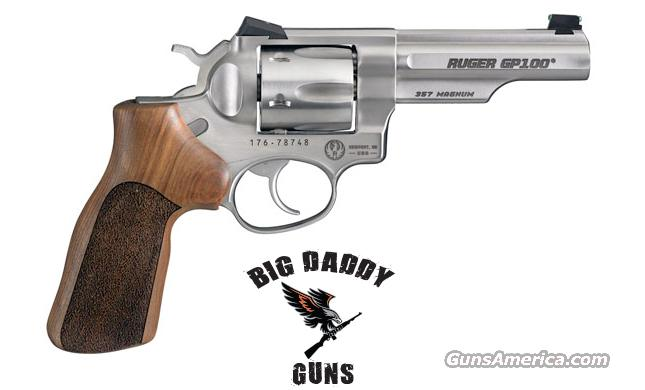 Ruger GP100-MC Match Champ 357 4in Stainless New  Guns > Pistols > Ruger Double Action Revolver > Security Six Type