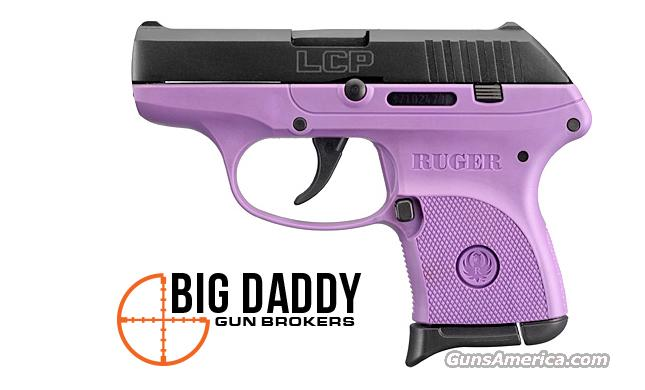 Ruger LCP-PG 3725 Centerfire 380 Purple  Guns > Pistols > Ruger Semi-Auto Pistols > LCP