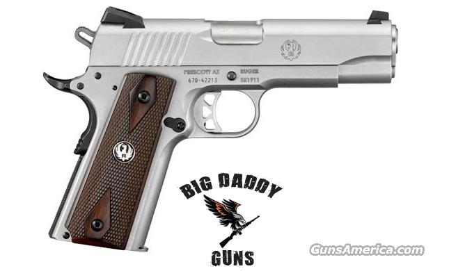 Ruger SR1911 Commander 45ACP 4.5in Stainless New In Box  Guns > Pistols > Ruger Semi-Auto Pistols > SR9 & SR40