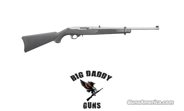 Ruger 10/22 Black w/ Stainless Barrel 22LR NEW in Box  Guns > Rifles > Ruger Rifles > 10-22