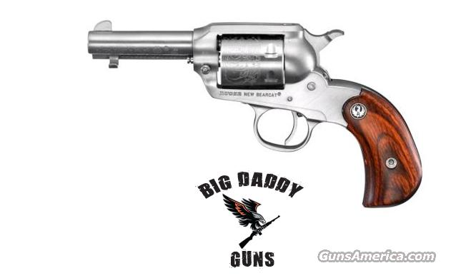 Ruger Bearcat Shopkeeper 22LR 3in Stainless NEW  Guns > Pistols > Ruger Single Action Revolvers > Single Six Type