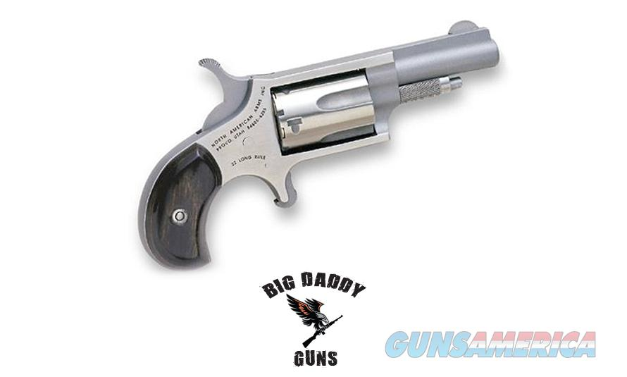 North American Mini 22LR 1-5/8in Stainless New In Box  Guns > Pistols > North American Arms Pistols
