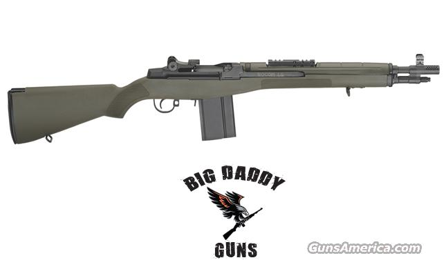 Springfield M1A SOCOM Green Stock 16in NEW in Box  Guns > Rifles > Springfield Armory Rifles > M1A/M14