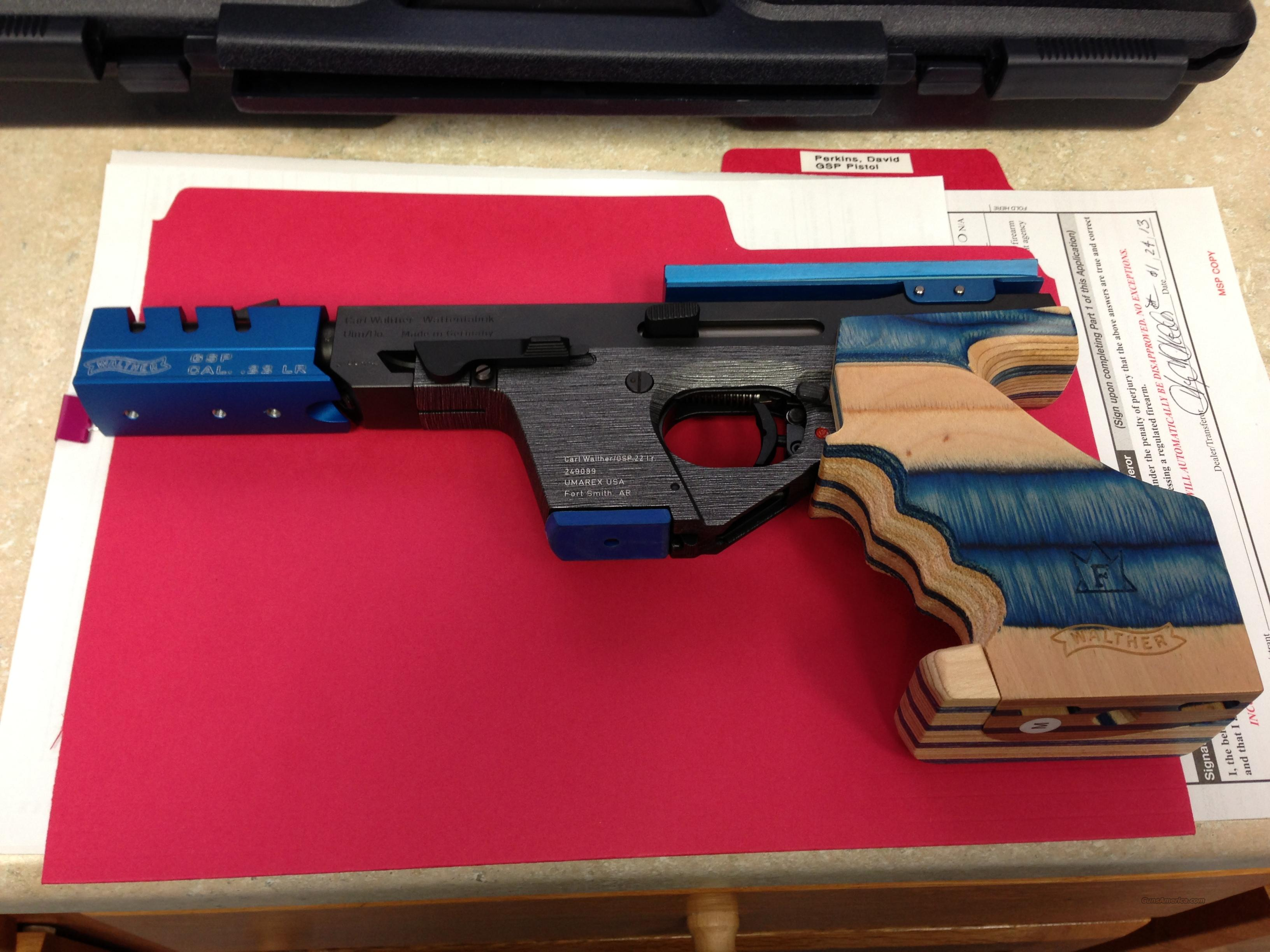 walther gsp expert 22cal match pistol for sale walther mp5 22 manual walther gsp 22 manual