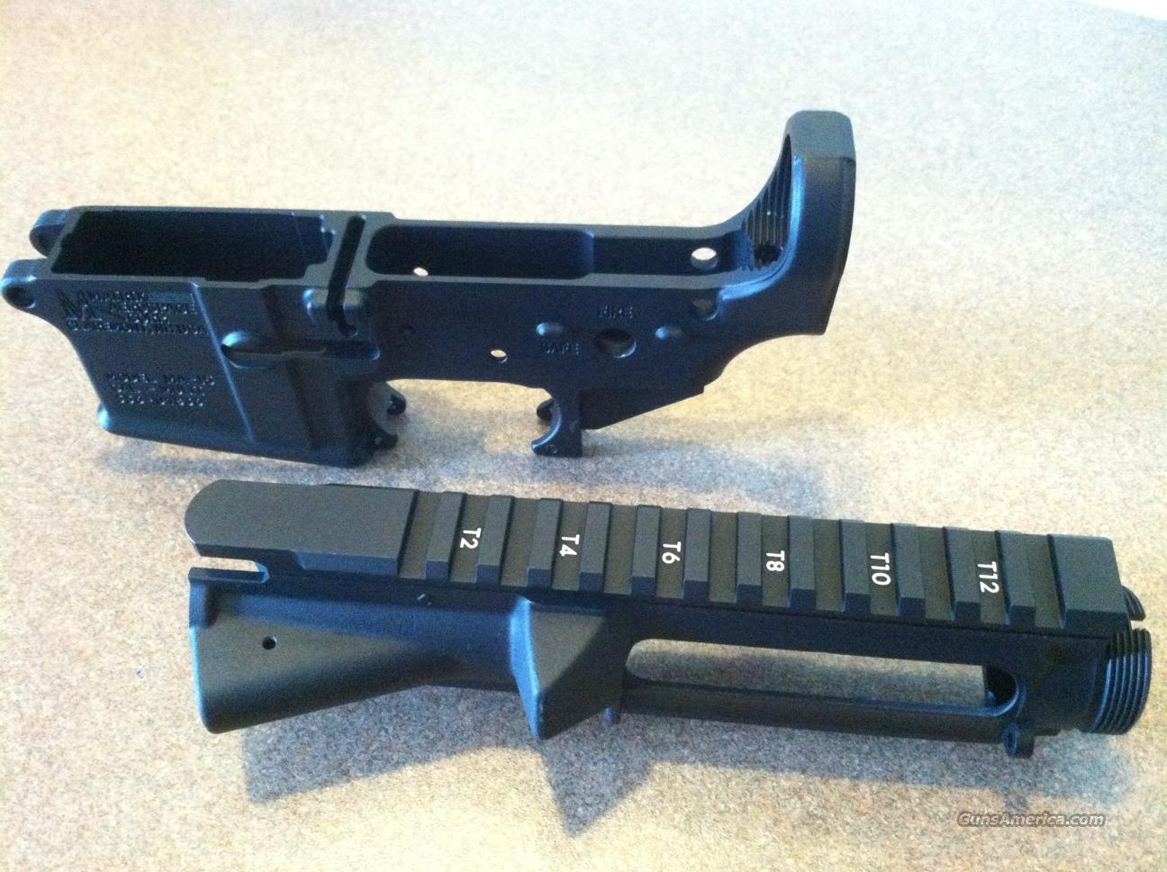 Stripped Upper & Lower Matched Set  Guns > Rifles > AR-15 Rifles - Small Manufacturers > Lower Only
