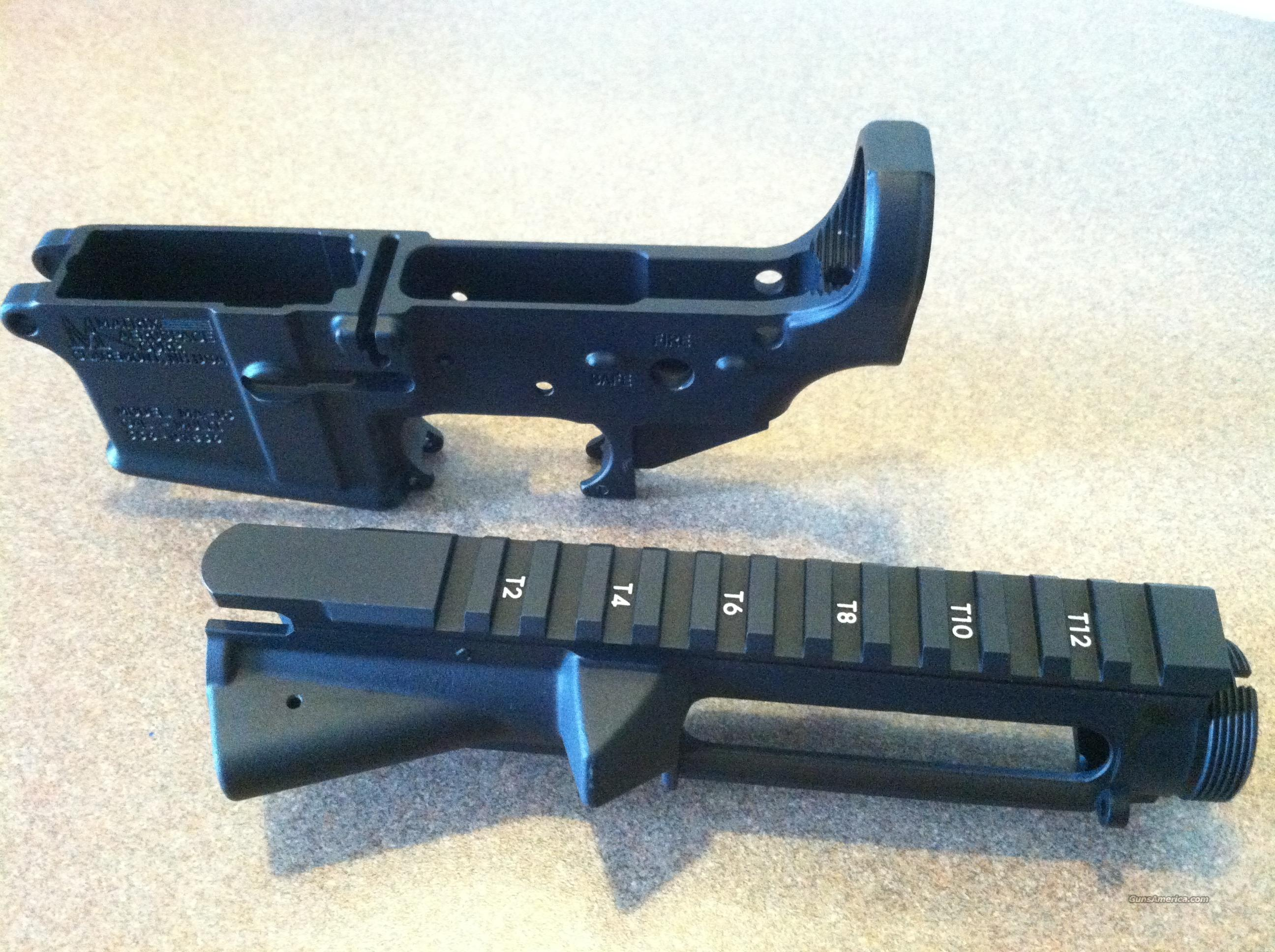 3 Upper & Lower Mil-Spec Stripped Receiver Sets  Guns > Rifles > AR-15 Rifles - Small Manufacturers > Complete Rifle