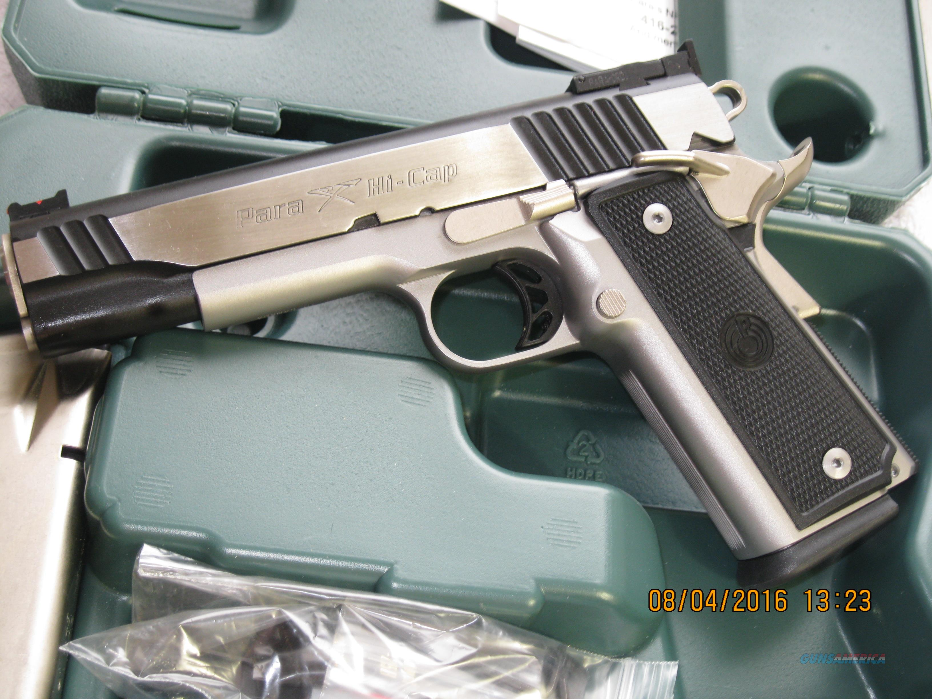Para Ordnance Hi Cap 45 Acp For Sale