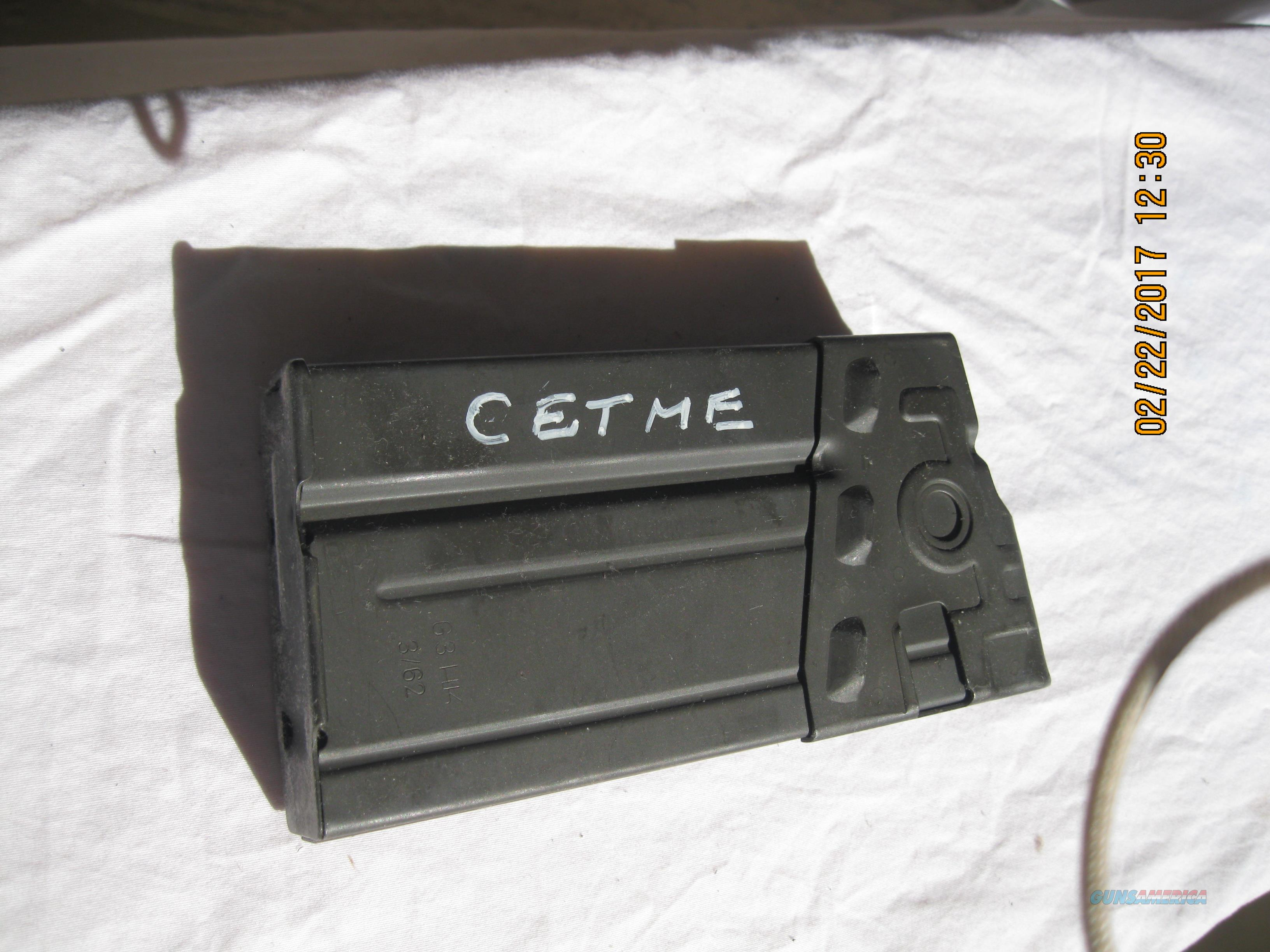 CETME ORIGINAL STEEL MAGAZINE IN .308 NATO  Non-Guns > Magazines & Clips > Rifle Magazines > HK/CETME