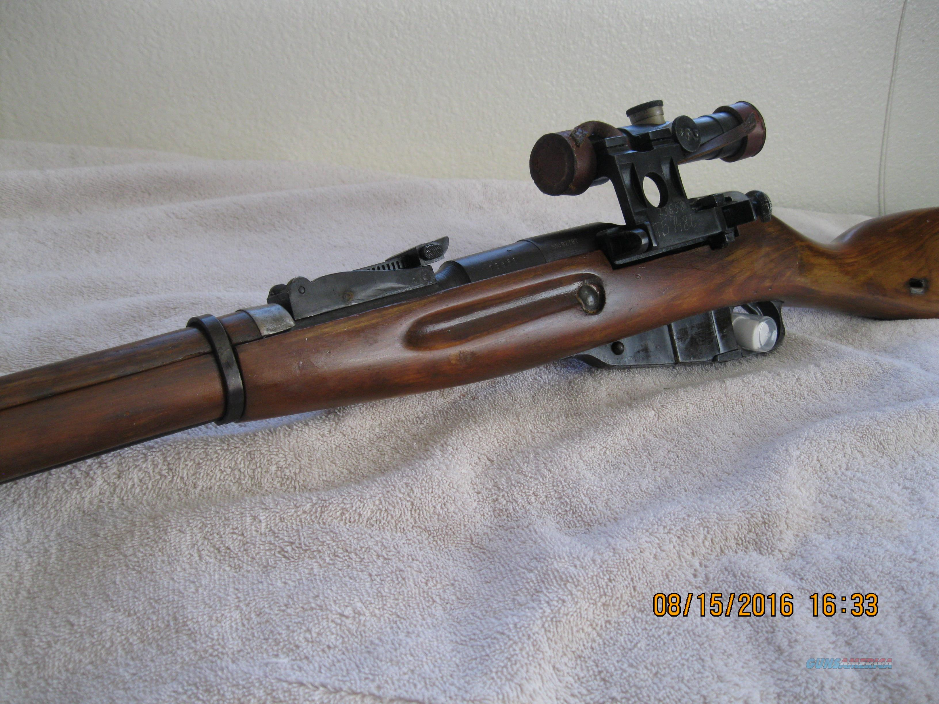 AUTHENTIC MOSIN NAGANT 91/30 SNIPER RIFLE  Guns > Rifles > Mosin-Nagant Rifles/Carbines